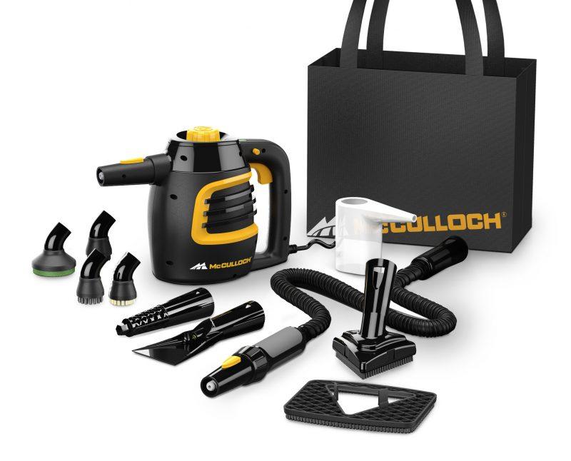 McCulloch MC1230 Handheld Steam Cleaner Accessories