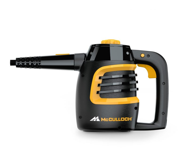McCulloch MC1230 Handheld Steam Cleaner Side