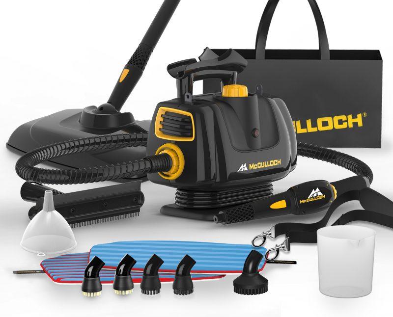 McCulloch MC1270 Portable Power Steam Cleaner Accessories