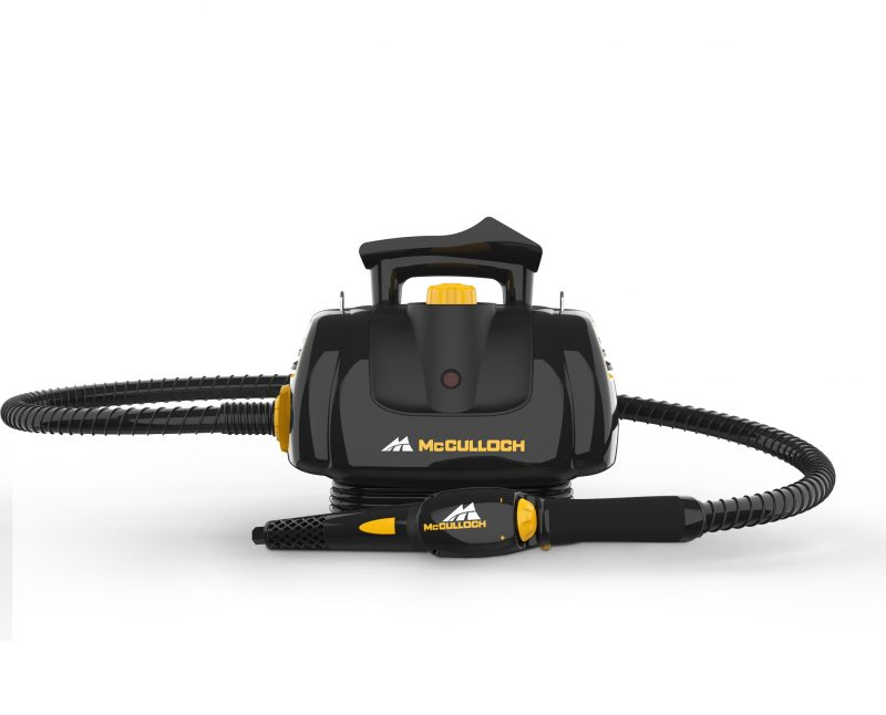 McCulloch MC1270 Portable Power Steam Cleaner Front