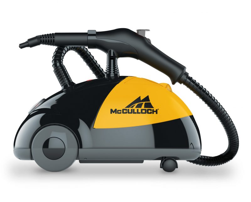 McCulloch MC1275 Canister Steam Cleaner Side