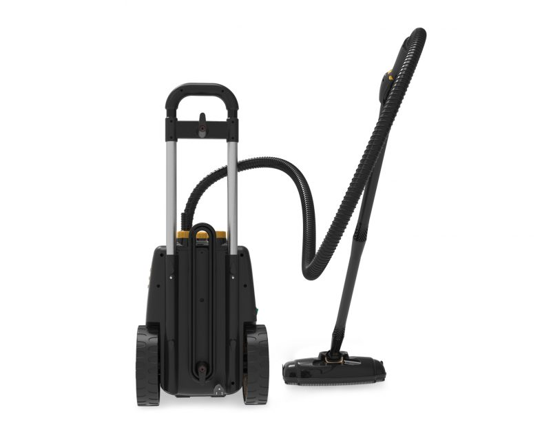 McCulloch MC1385 Deluxe Canister Steam Cleaner Back